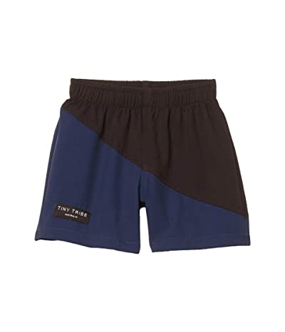 TINY TRIBE Blue Diagonal Boardshorts (Infant) (Assorted Color) Boy