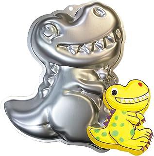 MEZHEN Moule à Gâteau Dinosaure Moules à Pâtisserie Enfant Moule à Gâteau d'Anniversaire 3D Moule Dinosaure pour Gateau Ch...