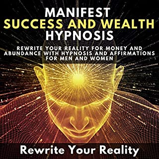 Manifest Success and Wealth Hypnosis audiobook cover art