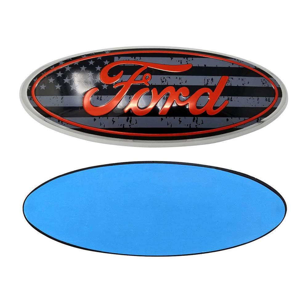 F-7PK F-150 F-250 F350 Escape Excursion Expedition Freestyle Grille Tailgate Rear Oval Emblem Front Badge Pink