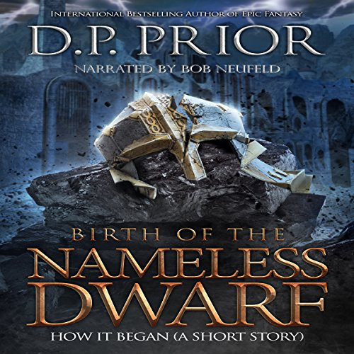 Birth of the Nameless Dwarf audiobook cover art