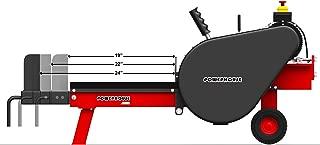 Powerhouse Log Splitters XM-880 Kinetic logsplitter, Red/Black/Silver