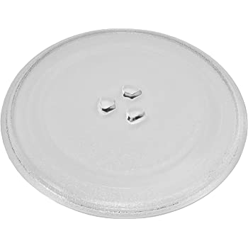 """UNIVERSAL COOKWORKS MICROWAVE TURNTABLE Glass Plate Dish 245mm 24.5cm 9.5/"""""""
