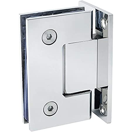 Genuine Stainless Steel Frameless Glass To Glass Shower Door Hinge Sidewise LE