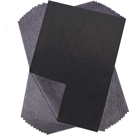 Tigre Amore カーボン紙 黒 A4 片面 転写 複写 カーボンペーパー 100枚 セット