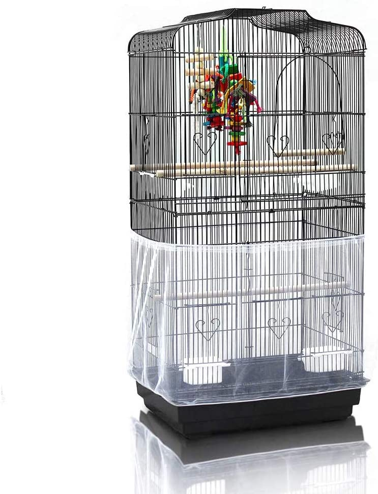 Free shipping New ASOCEA Extra Large Bird Cage Seed Long-awaited Birdca Catcher Guard Universal