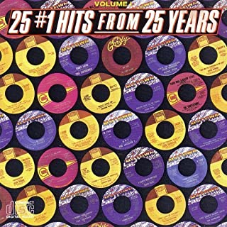 Various/Motown 25 #1 Hits From 25 Years by Stevie Wonder, Marvin Gaye, Commodores, Rick James, etc... (0100-01-01)