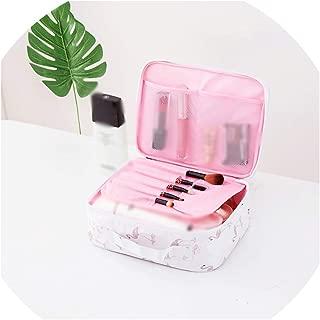 BeiBay Multifunction Waterproof Portable Cosmetic Bag Organizer Big Capacity Women Travel Makeup Bag,Onesize,Stylebwhite