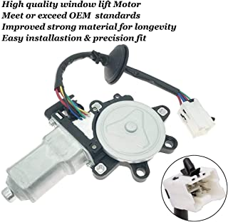 Window Lift Motor Front Left Driver Side for 2003-2009 Nissan 350Z 2003-2007 Infiniti G35 2 Door Coupe Model Replace 80731-CD00A 80731CD00A