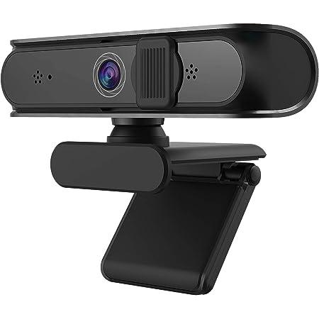 NetumScan Webcam 1080P Full HD micrófono estéreo con Enfoque automático, 5 megapíxeles cámara Web de grabación de Video, Compatible con Windows, Mac