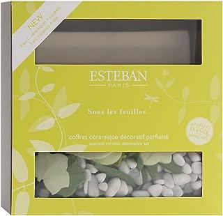 Esteban Sous Les Feuilles Scented Ceramic Decorative Set