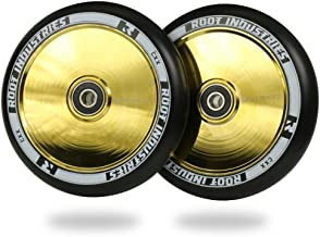 Root Industries Air 120mm Scooter Wheels Black Gold Rush (Set of 2)
