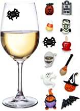 Halloween Magnetic Markers Stemless Champagne