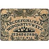 """Ouija Board Doormat - Witch Craft Non Slip Indoor Outdoor Doormat, Horror Welcome Mat, Halloween Decor (30""""x18"""")"""