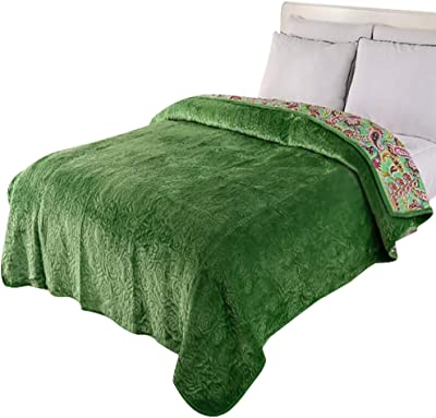 LVRUIA Soft Blankets Bed Throws Queen/King Size for Baby Adult - Winter Warm Throw