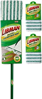 Libman 1362 Microfiber Wet and Dry Mop Kit