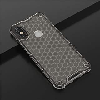 For Galaxy A20s Shockproof Honeycomb PC + TPU Case New (Blue) Lyaoo (Color : Grey)
