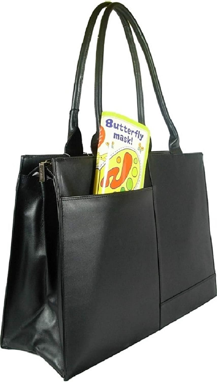 Visconti 19147 Damen Damen Damen Aktentasche Handtasche, Leder, groß, Schwarz B002OEYIN0 7b1c18
