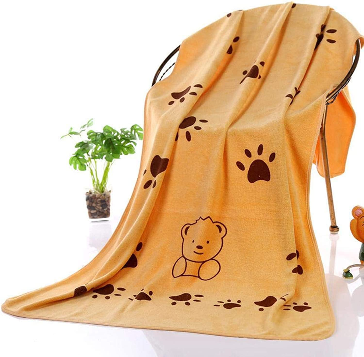 Dog Towels Personalised, Dog Towels Microfiber, It Features Good Water Absorption. It Will Not Fade and Lint, Processed with Brushing, It Touches Soft