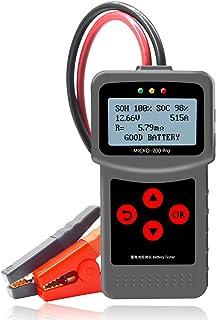 KKmoon Batterietester Professional 12V 24V 30 220AH Auto Batterie Belastungstest Testgerät Digital Analyzer Batteriezustand Test Tool mit USB Schnittstelle für Auto Boot Motorrad