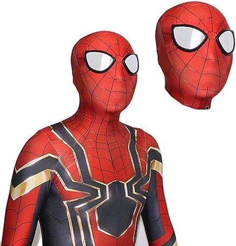 Mercancía de alta calidad y servicio conveniente y honesto. HYYSH Traje de Cosplay de Spiderman Pantalones Medias Medias Medias Ceremonia de Juego de rol para Adultos Escuela Vestido de Noche Mono Estiramiento Chaqueta de poliéster (Tamaño   XXXXL)  en stock