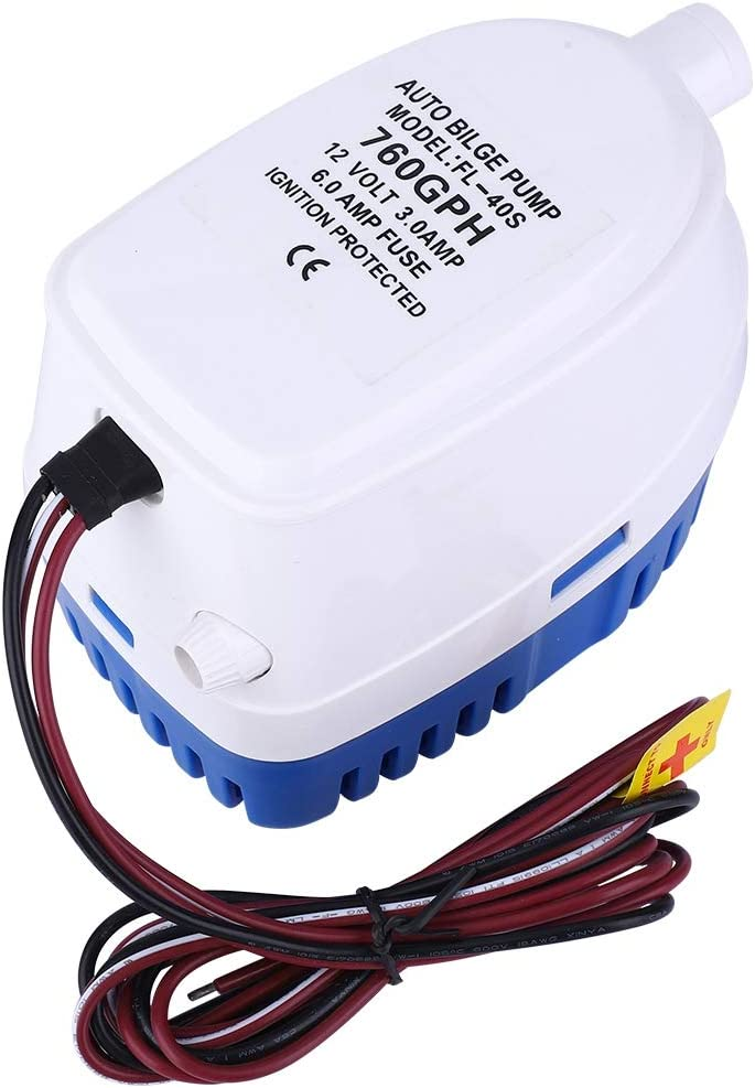 35% OFF Cloudbox Bilge Pump DC12V Submersible New Free Shipping Water Automatic