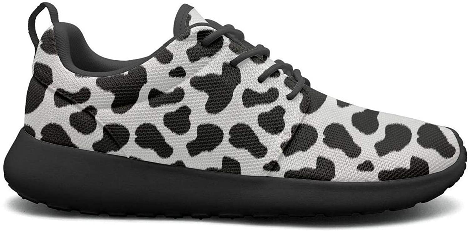 Wuixkas Dalmatian Skin Puppy Dog Womens Lightweight Mesh Sneakers Funny Athletic shoes