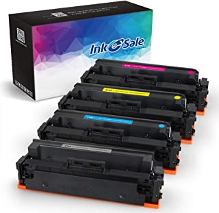 [NO CHIP] INK E-SALE 4-Packs Compatible Toner Cartridge Replacement for HP 414X 414A M454dw M479fdw for HP Color Laserjet Pro M454dw M454dn MFP M479fdw M479fdn Black Cyan Yellow Magenta (414X-KCMY)