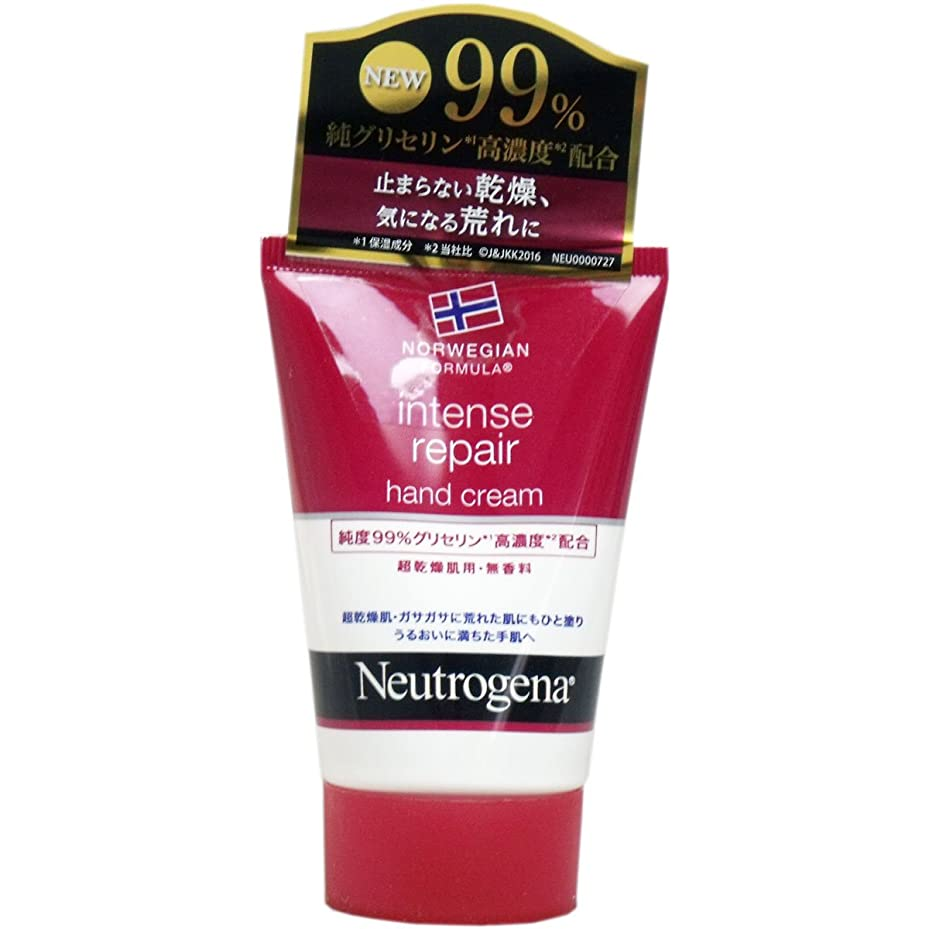 オプショナルスラム奨励ニュートロジーナ ノルウェーフォーミュラ インテンスリペア ハンドクリーム 無香料 50g(お買い得3個セット)