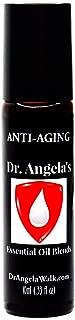 Dr. Angela Walk Anti-Aging Essential Oil Blend | Therapeutic Grade | Coconut & Jojoba Formula | Anti-Wrinkle Roll-On Bottle 10 ml (.33 fl oz)
