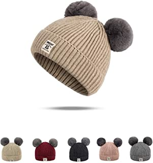 f6b858ad6e571 Boqiao Infant Toddler Baby Unisex Cotton Soft Cute Lovely Newborn Kids  Winter Hat Beanies Caps Baby
