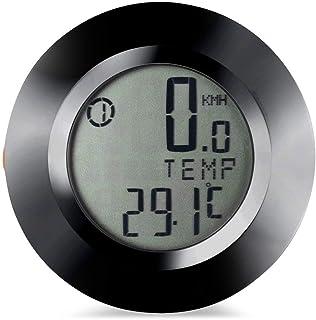Speedometer Speedometer Backlit Bicycle Computer Speedometer Speed Meter Mileage Rainproof Bike Computer Round Shape