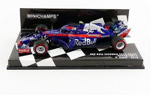 Minichamps Miniatur-Kollektion 417180010, Blau Rot Silber