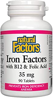 NATURAL FACTORS Iron Factors 35Mg, 90 Count