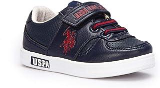 U.S. POLO ASSN. Bebek Unisex Cameron İlk Adım Ayakkabısı 100241650,Lacivert,21