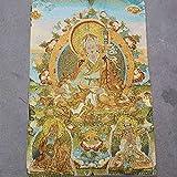 MILKKAR Thangka Tibetano, Thangka Budista, Pintura Colgante De Pared De Buda Thangka para Meditación, Yoga, Sala De Estar, Oficina Decorativa
