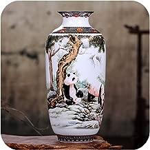 Little-Goldfish vases Ceramic Vase Vintage Chinese Style Animal Vase Fine Smooth Surface Home Decoration Furnishing Articles,2,Australia