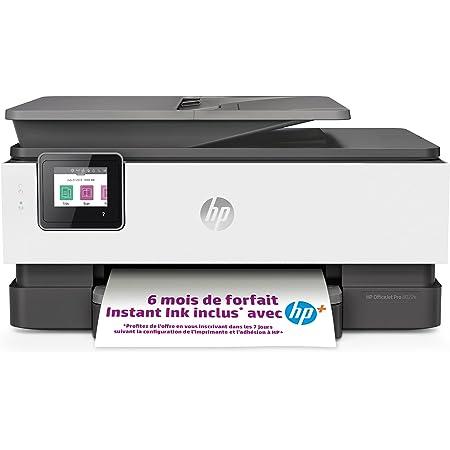 HP OfficeJet Pro 8022e Imprimante tout en un - Jet d'encre couleur – 6 mois d'Instant Ink inclus avec HP+, vos cartouches HP livrées chez vous sans avoir à y penser