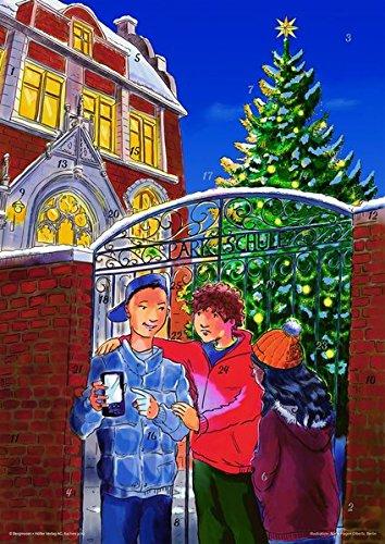 Tom im Weihnachtsnetz: Fensterbild-Adventskalender mit Begleitheft: DIN A2, transparente farbige Fensterbild-Folie mit deckender Titelfolie zum Abziehen, inkl. Begleitheft DIN A4