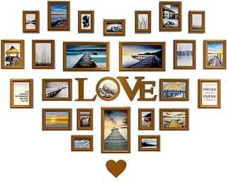 Wubingliu Sala de Estar en Forma de corazón decoración de la Pared Foto Lavar Foto Foto Pared Dormitorio Creativo Amor Mar...