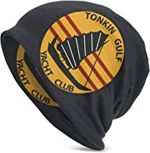 Tonkin Gulf Yacht Club Mens Womens Adults Soft Slouchy Knit Beanie Hat Skull Cap