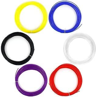 AFUNTA Multicolors 6PCS 1.75MM 20M / 50G ABS Print Filament For 3D Printer Pen