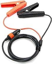 Jackery 12V 自動車用バッテリー充電ケーブル バッテリークリップ 12V 車用 バッテリー充電 クリップ 小型 軽量 ショート保護 逆接続保護 過充電保護 Jackeryポータブル電源 1000/700/400/240対応
