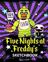 Five Nights at Freddy's SketchBook - 101 Pages: Draw Your Very Own FNaF Character