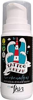 Crema para tatuajes | Crema para reparar, hidratar y proteger los tatuajes | Sin derivados del petróleo ni parabenos | Crema Tattoo Para Cuidado Profesional | 100 ml | Alskin