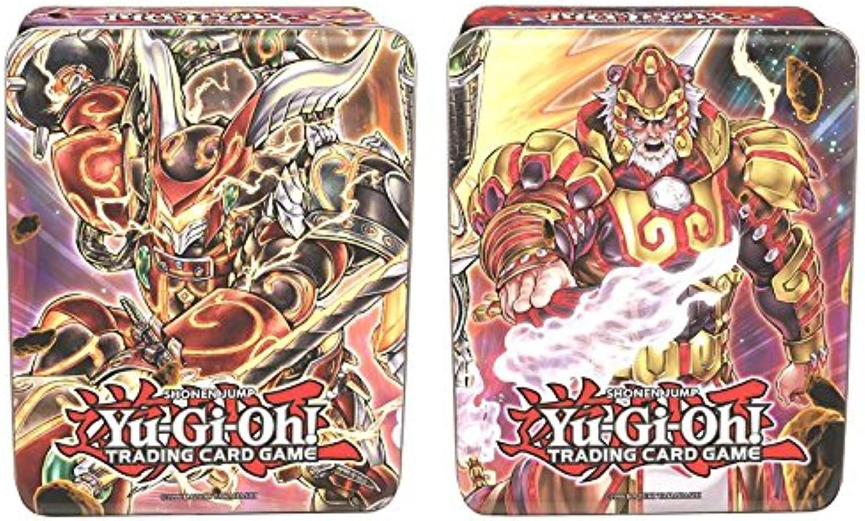 YuGiOh  Mega Tin 2014, Feuerfaust und Bujintei - Doppelpack deutsch