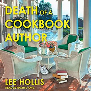 Death of a Cookbook Author audiobook cover art