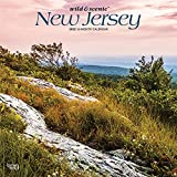 New Jersey Wild & Scenic 2022 12 x 12 Inch Monthly Square Wall Calendar, USA United States of America Northeast State Nature