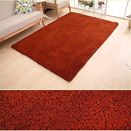 ZHAOPAI Tapijt/meubel, rond, licht, mooie haarkleurige tapijten, huisdecoratie, kruipdeken, gemakkelijk te stofzuigen, slaapkamer, tapijt, bruin