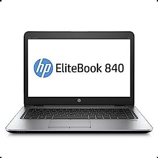 """HP EliteBook 840 G3-14"""" FHD, Intel Core i5-6300U 2.4Ghz, 8GB DDR4, 256GB SSD, Bluetooth 4.2, Windows 10 64 (Renewed)"""